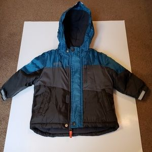 Oshkosh Fleece Coat Boys 12 Month